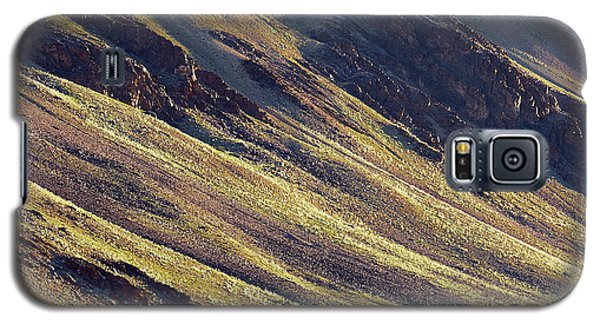 Early Morning Light On The Hillside In Sarchu Galaxy S5 Case