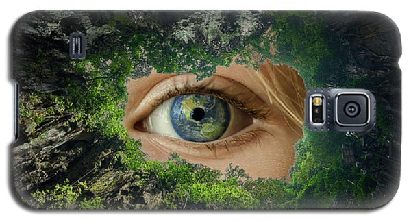 Earth Is Watching You Galaxy S5 Case