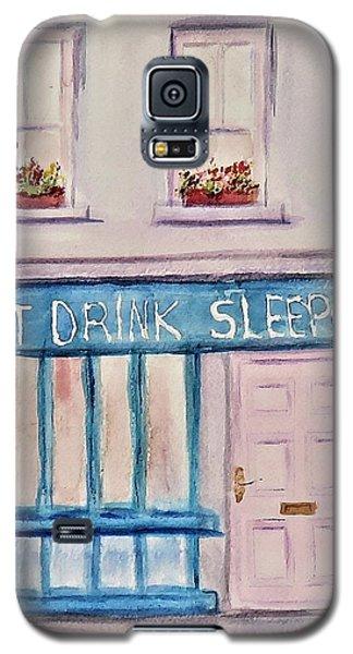 Eat Drink Sleepover Galaxy S5 Case