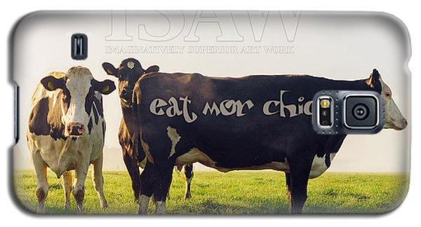 Eat Mor Chickn Galaxy S5 Case