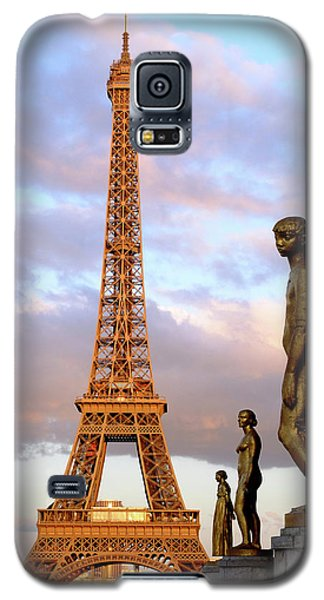 Eiffel Tower At Sunset Galaxy S5 Case