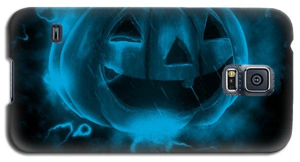 Electric Pumpkin Galaxy S5 Case