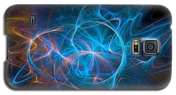 Electric Universe Blue Galaxy S5 Case