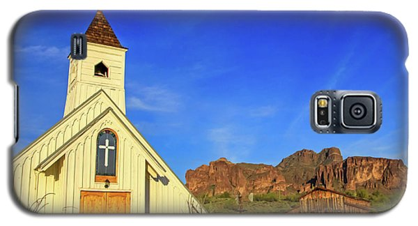 Elvis Chapel At Apacheland, Superstition Mountains Galaxy S5 Case
