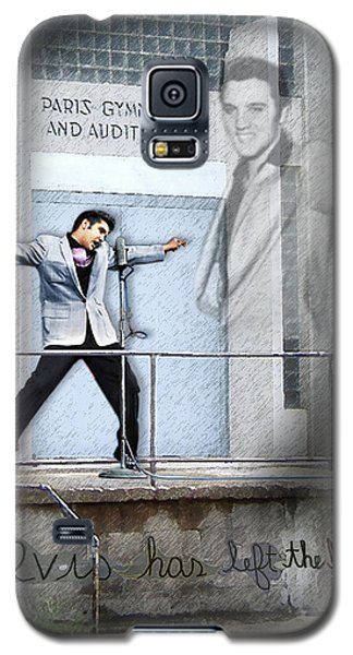 Elvis Has Left The Building Galaxy S5 Case