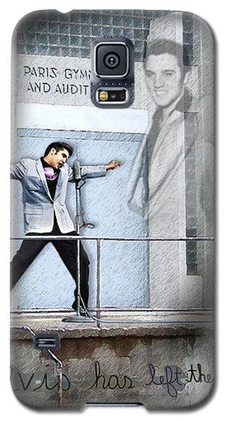 Elvis Has Left The Building Galaxy S5 Case
