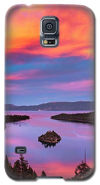 Emerald Bay Explode Galaxy S5 Case