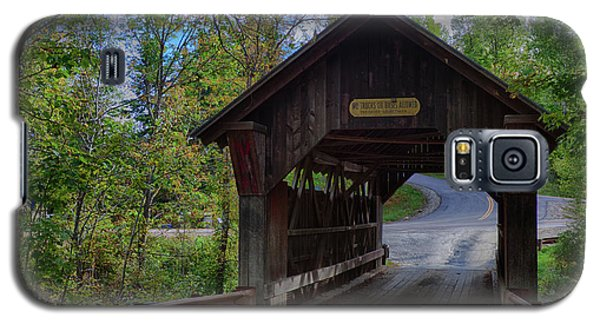Emily's Covered Bridge In Stowe Vermont Galaxy S5 Case