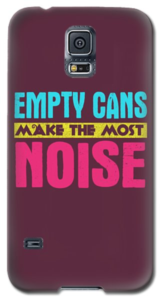 Empty Cans Galaxy S5 Case
