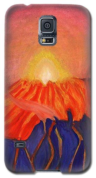 Erupting Volcano Galaxy S5 Case