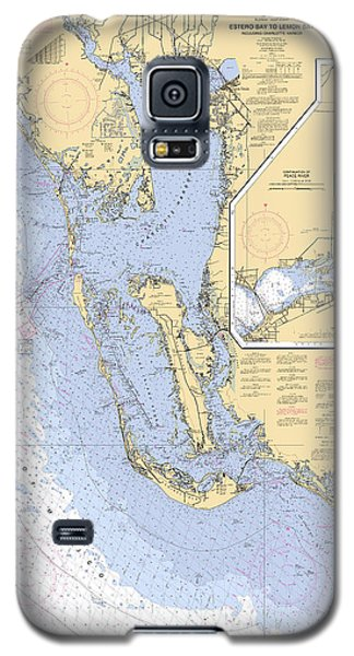 Estero Bay To Lemon Bay, Noaa Chart 11426 Galaxy S5 Case