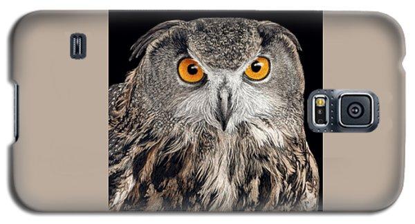Eurasian Eagle Owl Galaxy S5 Case