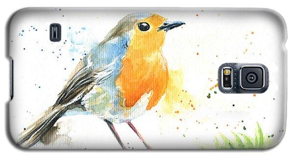 European Robin Galaxy S5 Case