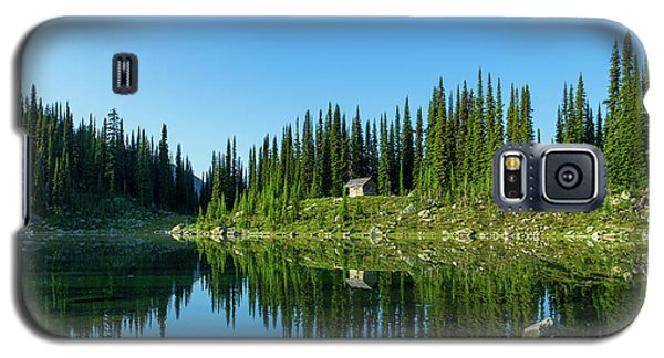 Eva Lake Cabin Galaxy S5 Case