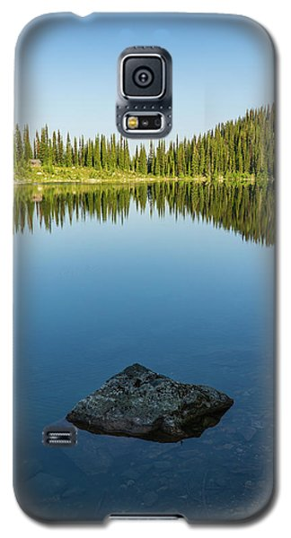 Eva Lake Mirror Galaxy S5 Case