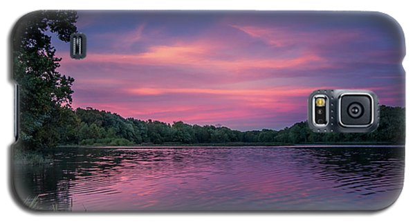 Evening At Springfield Lake Galaxy S5 Case