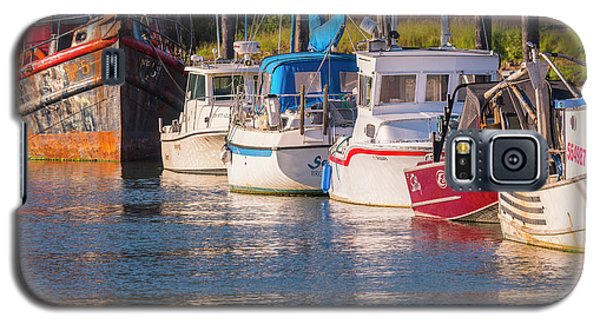 Evening At The Harbor Galaxy S5 Case