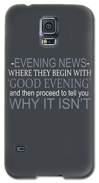 Evening News Galaxy S5 Case