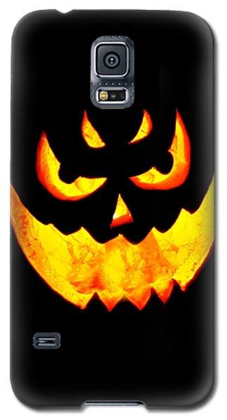 Evil Glowing Pumpkin Galaxy S5 Case