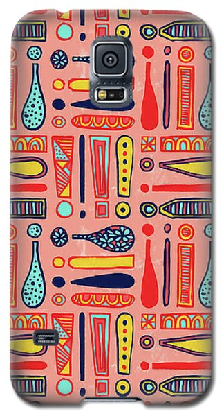 Exclamations Pattern Galaxy S5 Case