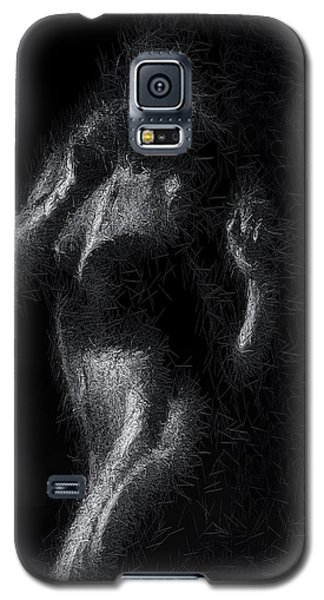 Galaxy S5 Case featuring the digital art Exhale by ISAW Company