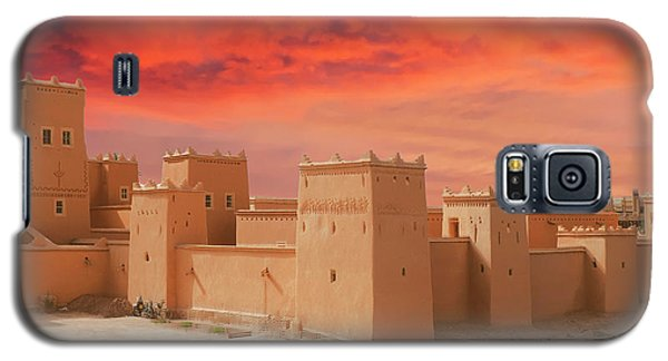 Exterior Buildings Of Kasbah Taourirt Galaxy S5 Case