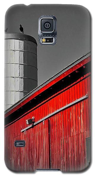 Fading Barn Galaxy S5 Case
