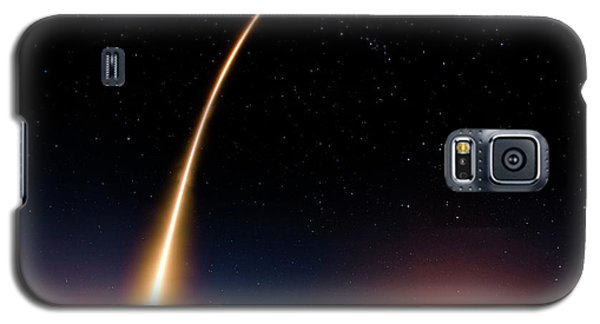 Falcon 9 Rocket Launch Outer Space Image Galaxy S5 Case