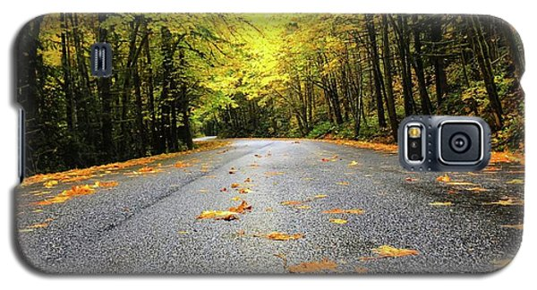 Fall Drive Galaxy S5 Case