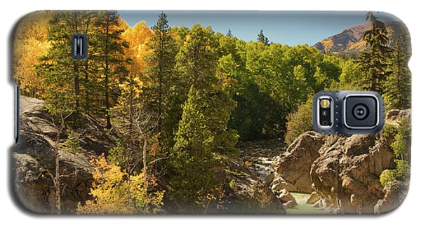 Fall On Independence Pass Galaxy S5 Case