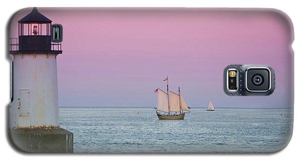 Fame At Sunset On Salem Harbor Galaxy S5 Case