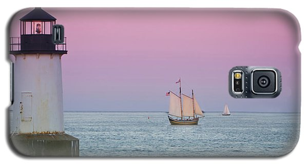 Fame At Sunset On Salem Harbor Galaxy S5 Case