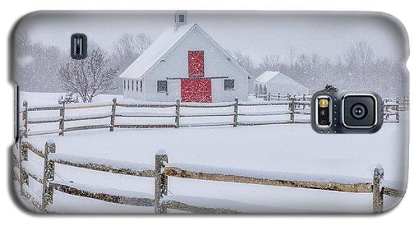 Farm In The Snow Galaxy S5 Case