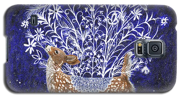 Fawn Bouquet Galaxy S5 Case