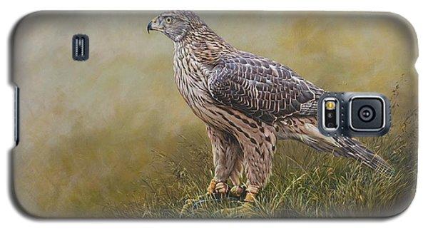 Female Goshawk Paintings Galaxy S5 Case