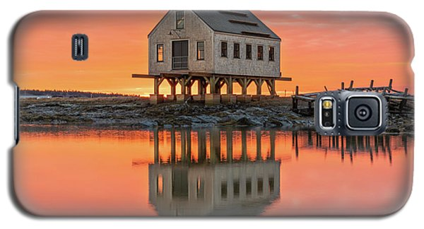 Fiery Skies At Cape Porpoise Galaxy S5 Case