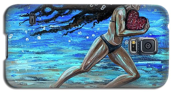 Galaxy S5 Case - Fight The Fine Fight Of The Faith by Artist RiA