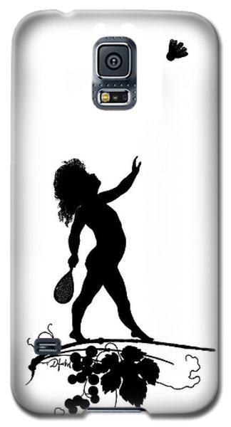 Sport Art Galaxy S5 Case - Figure With Shuttlecock by Karl Wilhelm Diefenbach