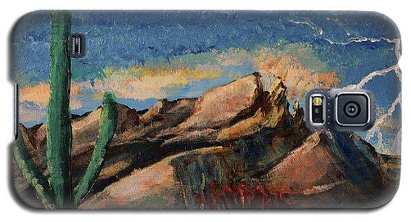 Finger Rock Lightning  Galaxy S5 Case