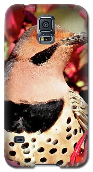 Fire Bush Flicker Galaxy S5 Case