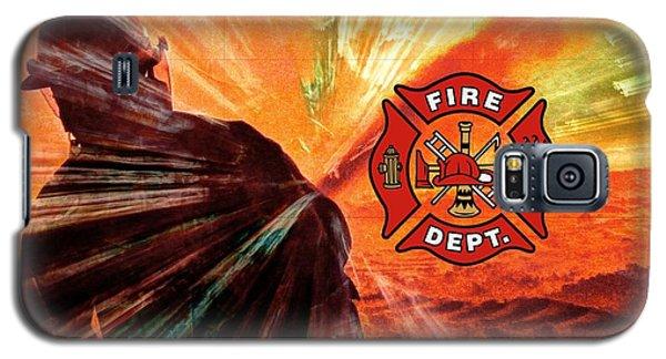 Fire Fighting 1 Galaxy S5 Case