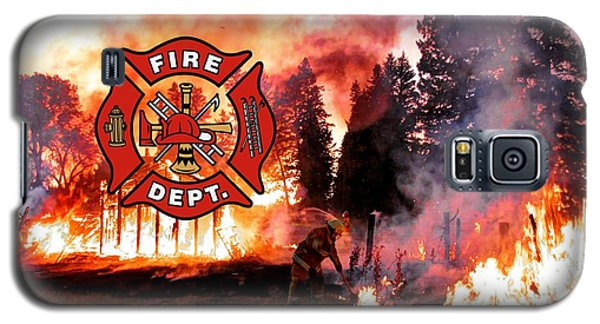Fire Fighting 3 Galaxy S5 Case