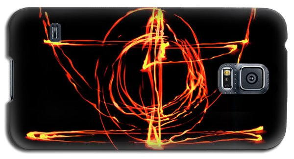 Fire Light Drawing Galaxy S5 Case