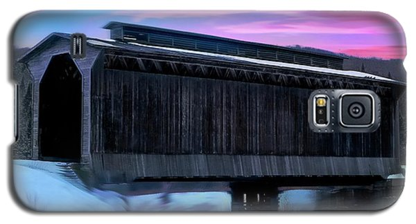 Fisher Raiilroad Covered Bridge Wolcott Vermont. Galaxy S5 Case