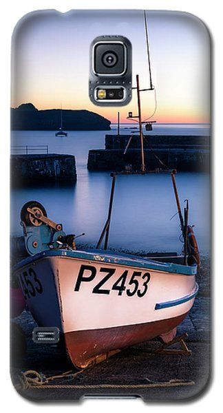Fishing Boat In Mullion Cove Galaxy S5 Case