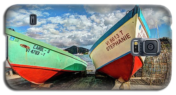 Fishing Boats In Frenchtown Galaxy S5 Case