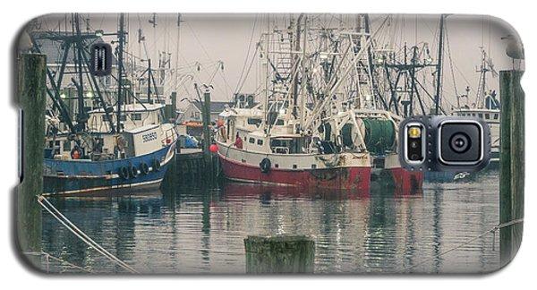 Fishing Boats Galaxy S5 Case