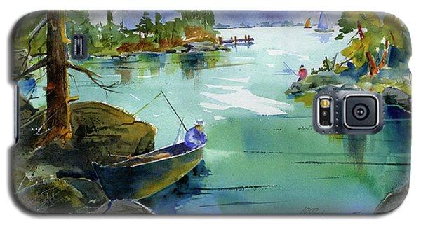 Fishing Lake Tahoe Galaxy S5 Case