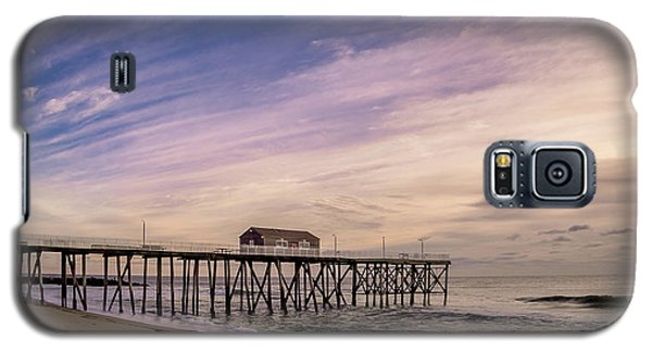 Fishing Pier Sunrise Galaxy S5 Case