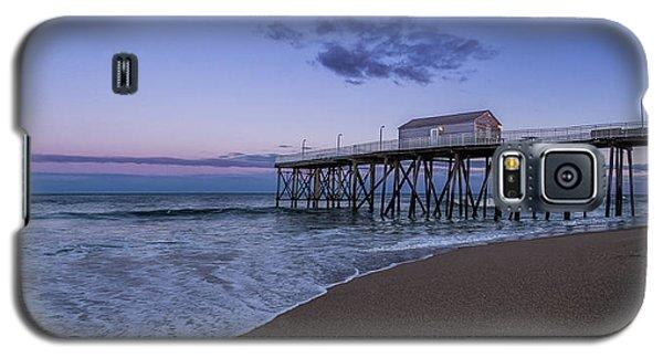 Fishing Pier Sunset Galaxy S5 Case